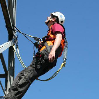 Szkolenie wysokościowe w dostępie linowym