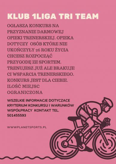 Klub 1Liga team - Konkurs dla sportowców